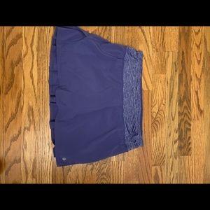 Lululemon Skort with Attached Compression Shorts